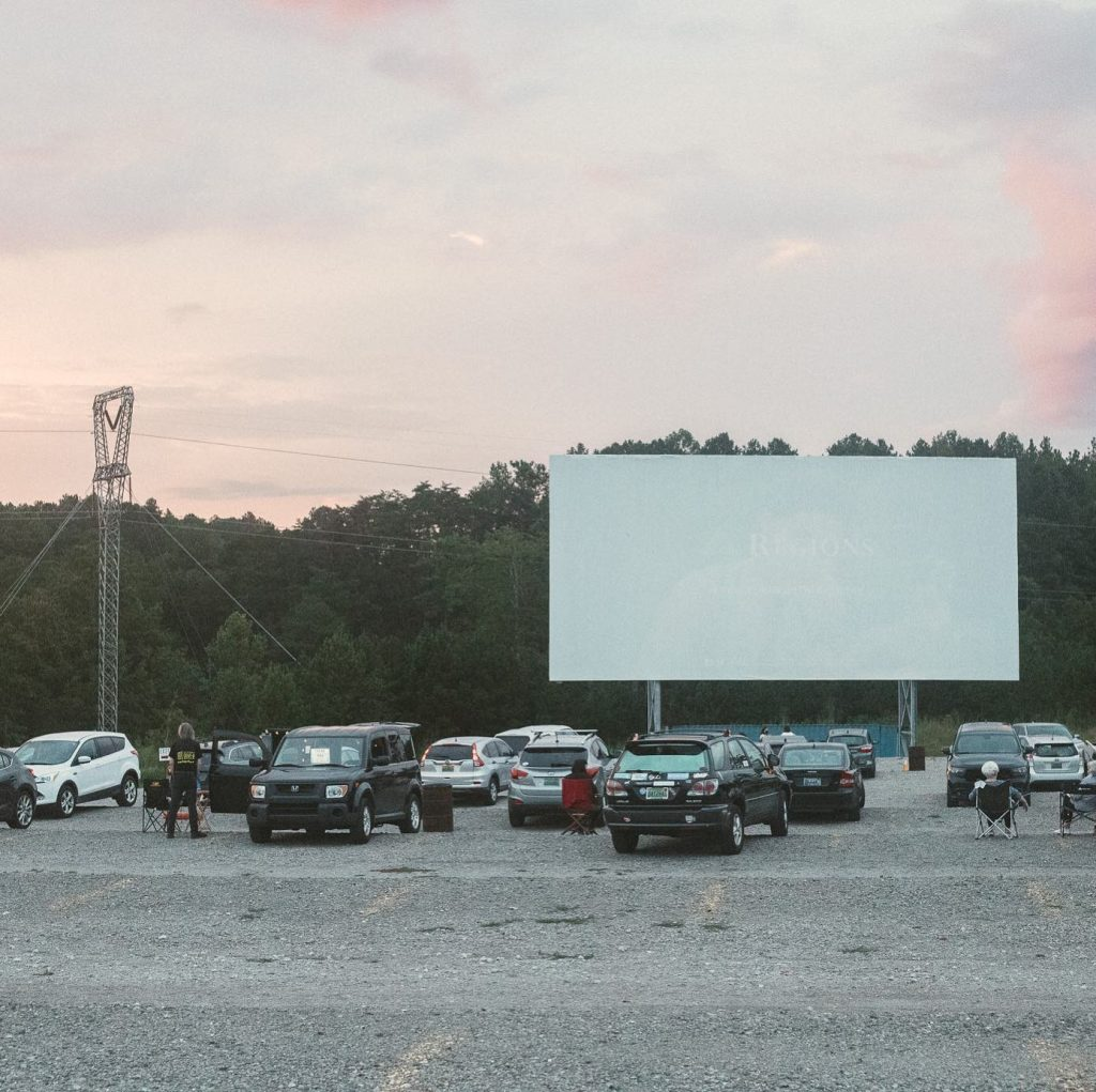 Holiday Drive-In with Santa in Birmingham