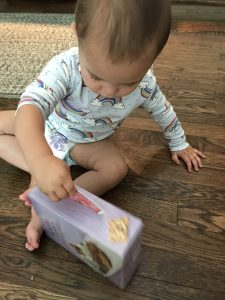 Easy toy hacks using household items - babies learn coordination