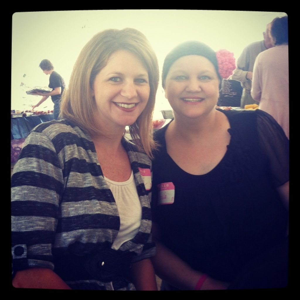 Breast cancer awareness - A walk to remember in support of my sister.