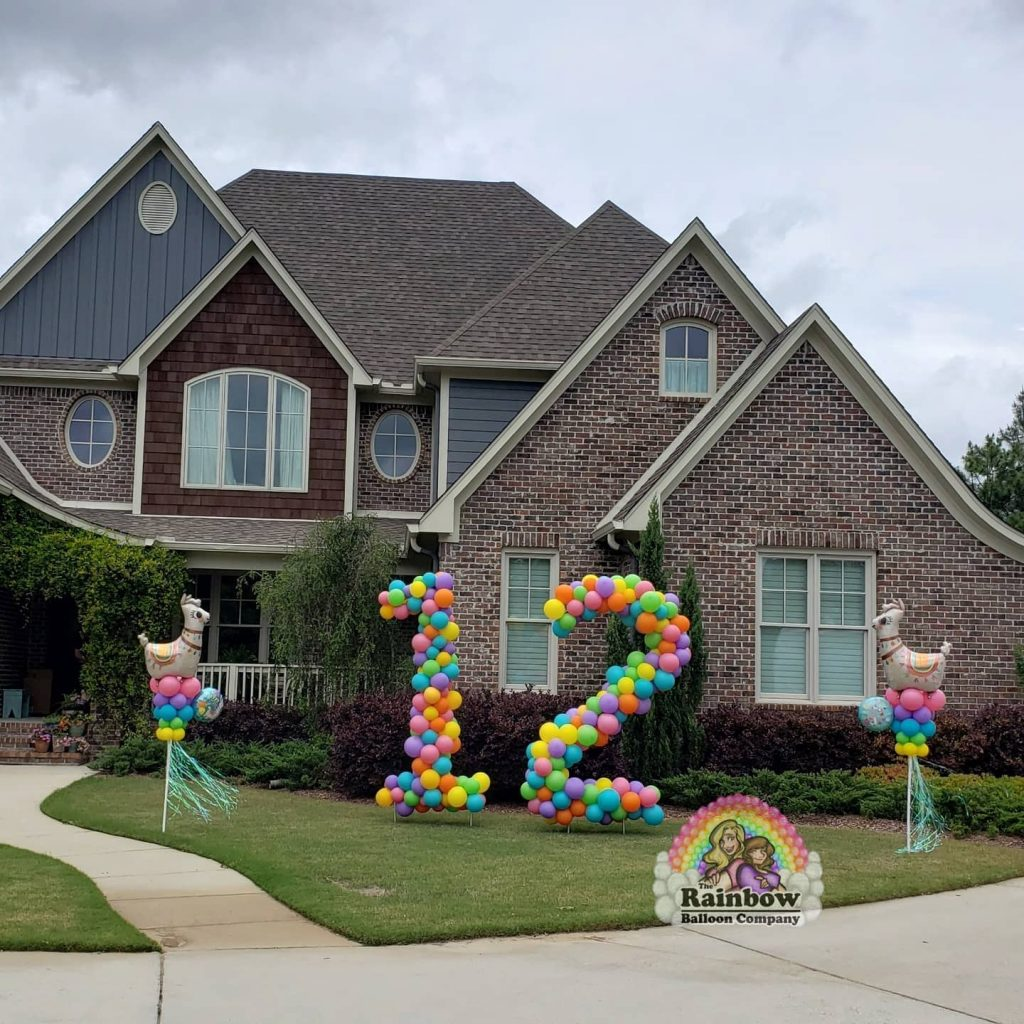 Balloon art and yard decor have been their saving grace as many in-person events were canceled this year.