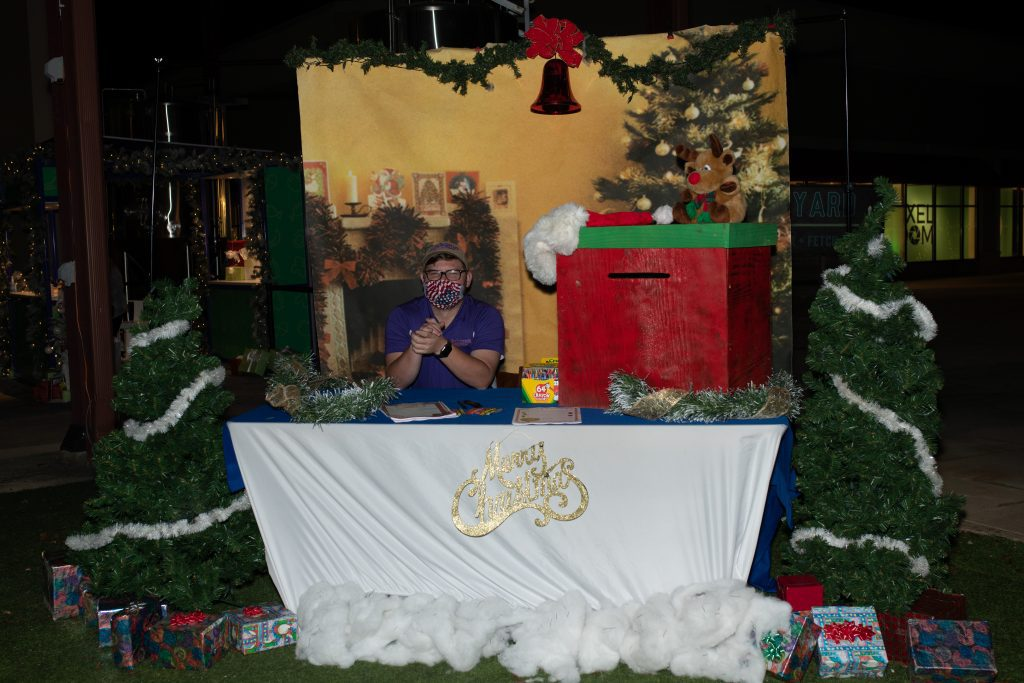 Holiday Drive-In with Santa