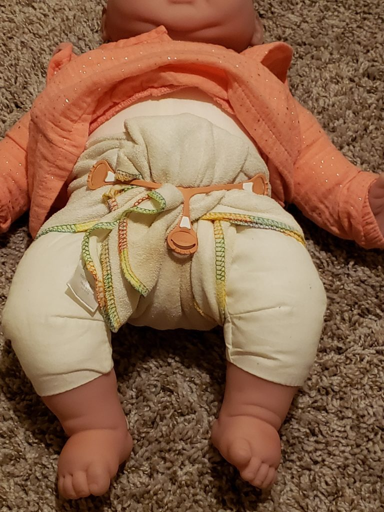 modern cloth diapering - no safety pins needed!