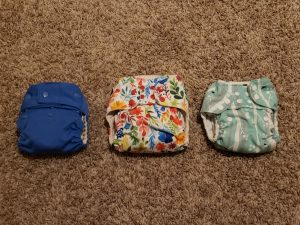 cloth diapering - there are multiple styles to choose from