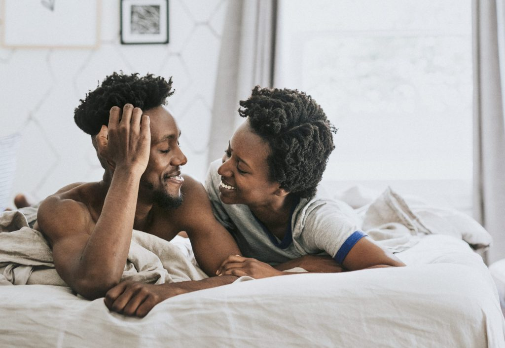 Let's talk about sex - open communication is so helpful in deepening intimacy.