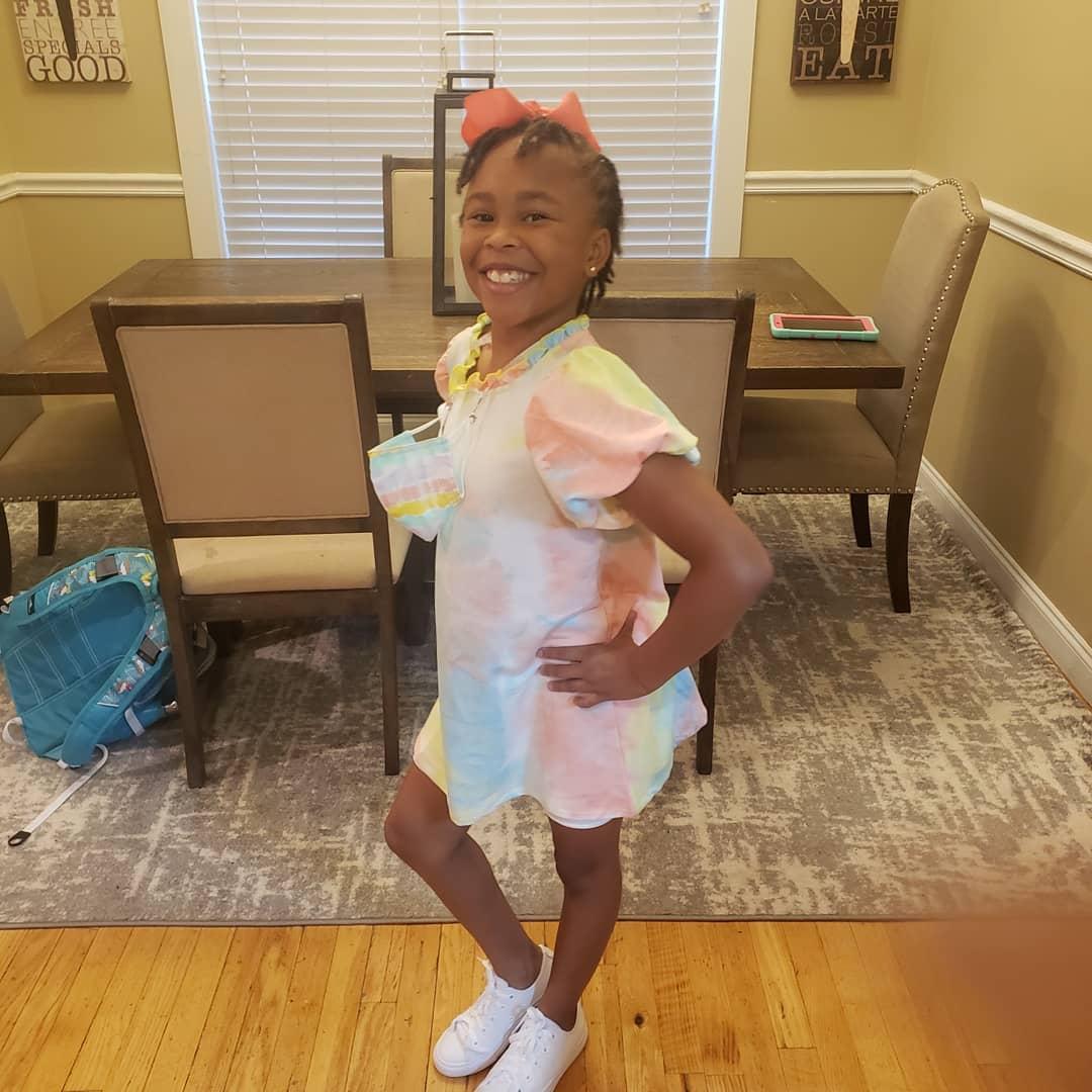 Lauren has a strong, beautiful African American daughter.