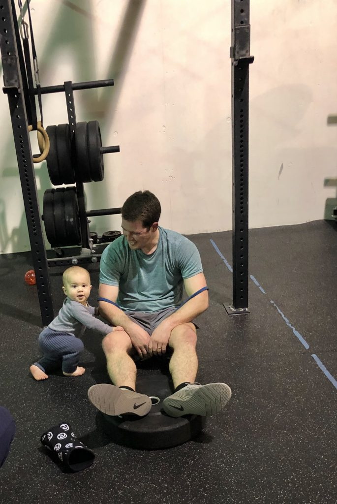 Avoid the obesity epidemic by building healthy habits into your kids' lives. Involve them in your family workouts!