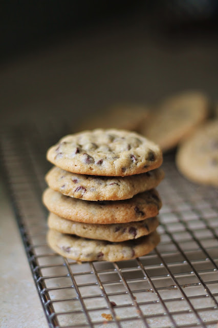 The best chocolate chip cookies a la Emily!