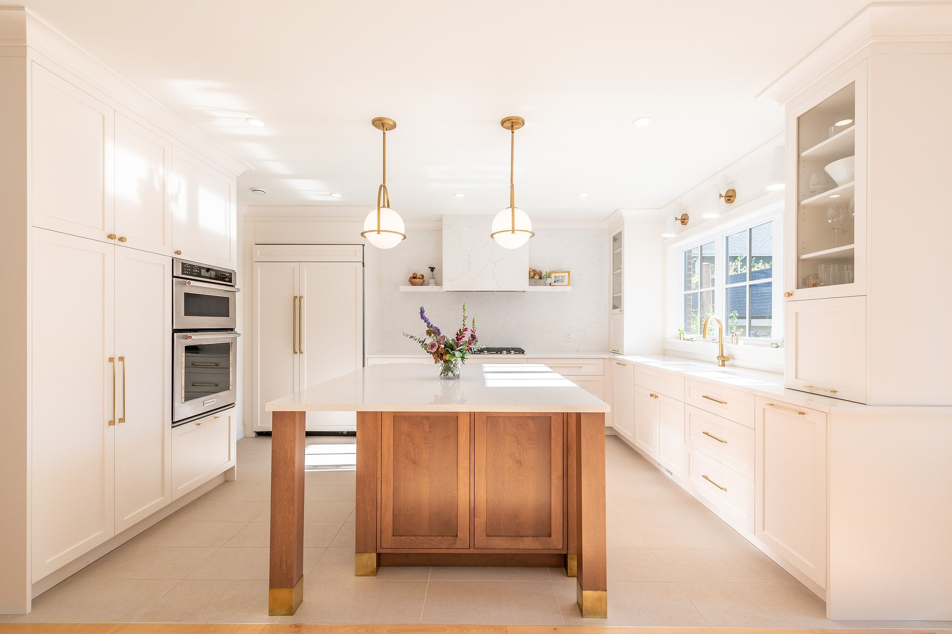 thoughts on keeping a home - make sure your kitchen is clean at night!