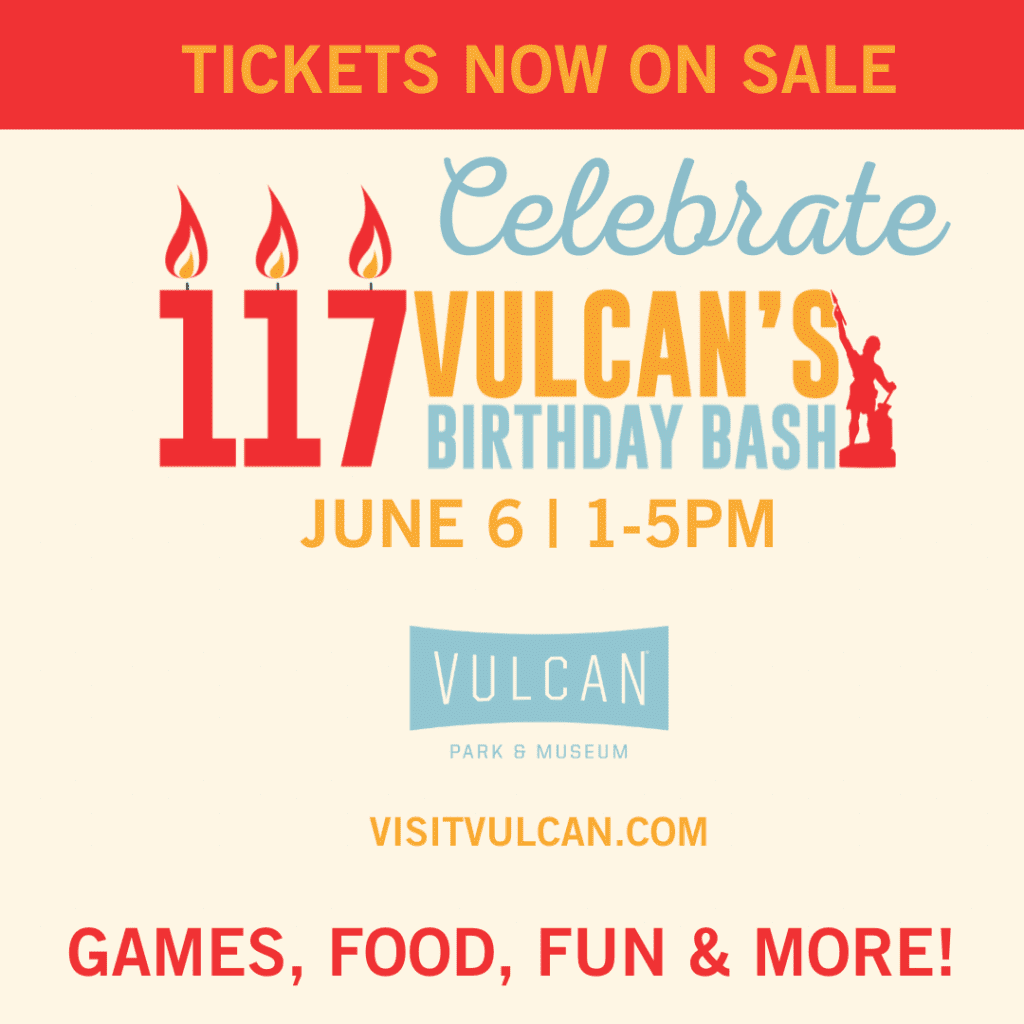 Vulcan's birthday party bash