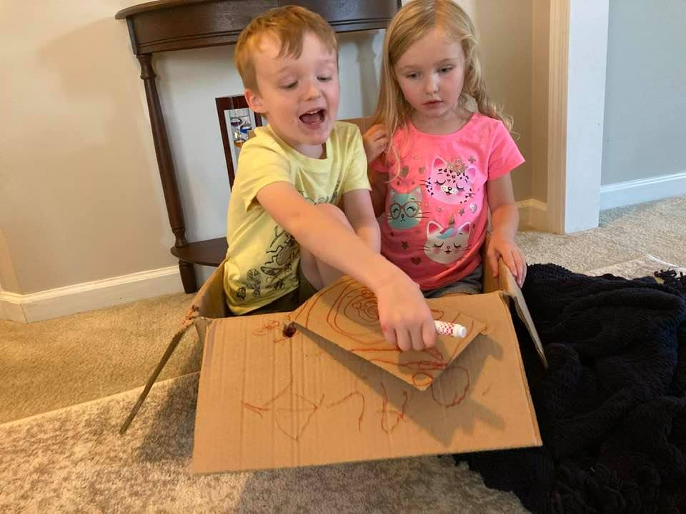 going screen-free helped my children find other activities